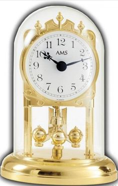 Whether on the table by the fireplace or decorative on your dresser, this desk clock  will guide you through the time.