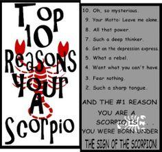 (*♏)  #Scorpio  #Pmedwards #HLWP