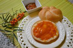 Sanddorn Marmelade - Säuerlich fruchtige Marmelade mit hohem Vitamin C Gehalt.