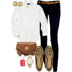 Easy and preppy I love it