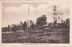 L'Eglise, SAINT-ANDRE-DE-COTONE 1910