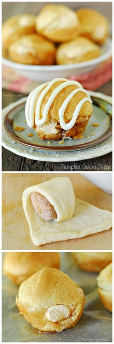Pumpkin Cream Puffs are an awesome pumpkin dessert for fall!