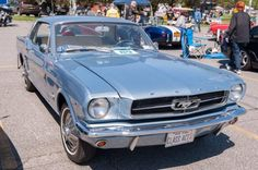 This 1964 Mustang is owned by Howard Itkin of Bellmore. The car has been restored to all original factory condition and is an extremely limited edition D-code. The car has a 289 engine and rides on original 14-inch wheels.