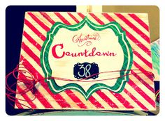 Vintage Charm Restored: Countdown to Christmas!!