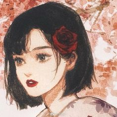Japanese Painting, Beautiful Paintings, Painting Techniques, Kawaii Anime, Anime Guys, Art Girl, Fashion Art, Avatar, Illustration