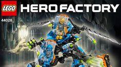 LEGO.com Hero Factory Products - Heroes - 44028 SURGE & ROCKA Combat Machine