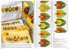 Handmade-kursy ,wzory ,tutoriale: Haft krzyżykowy-dużo wielkanocnych schematów