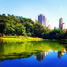 Parque da Aclimação em São Paulo, SP
