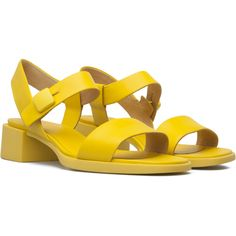 Camper Kobo Yellow Sandals Women K200326-001