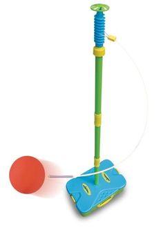Mookie Swingball First Swingball: Des raquettes légères et une balle douce en mousse Tout se range dans la base Facile à porter et à ranger…