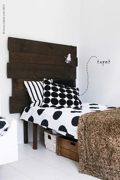 the diy headboard