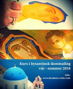 Byzantine Icon Painting Courses in Oslo, Norway – February/March 2018  Helgekurs i bysantinsk ikonmaling i februar og mars 2018 i Oslo. Painting Courses, Byzantine Icons, Movie Posters, Art, Art Background, Film Poster, Kunst, Performing Arts, Billboard