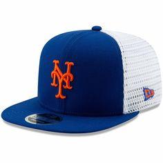 ccd974170aae8 Men s New York Mets New Era Royal White Mesh Fresh 9FIFTY Adjustable  Snapback Hat
