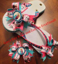Frozen flip flop set