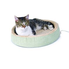K&H THERMO-KITTY CUDDLE UP SAGE 16