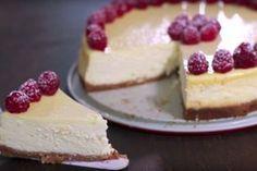 Zo maak je een magere cheesecake zonder roomkaas!