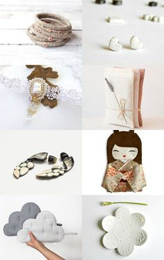 Between Beige and White by soap'nstuff on Etsy--Pinned with TreasuryPin.com