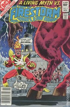THE FURY OF FIRESTORM THE NUCLEAR MAN 6, DC COMICS