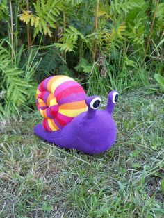 the cutest snail ever!