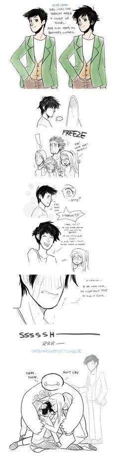 So alike….. it hurts  By:Usagiko-JOvi on Deviantart  No, no... it's fine.... I never needed a heart....