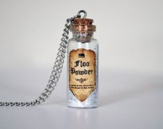 Magic Wizard Potion Bottle Necklaces Harry by TaypopDesigns