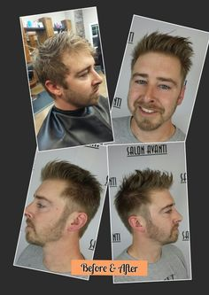 #Before & After #MensFade #Styles                        #By# Elaine