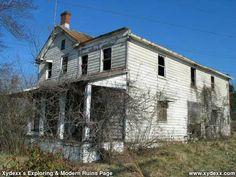abandoned house in Sterling, VA