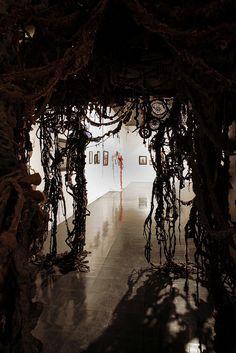 Incredible immersive installation by fiber artist Mandy Greer.