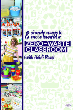 8 simple ways to move toward a zero-waste classroom Classroom Routines, Classroom Management Strategies, Classroom Procedures, Classroom Organization, Classroom Ideas, Classroom Design, Parent Volunteers, First Day Of School Activities, Teacher Inspiration