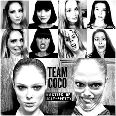 5 Beautiful Models Making Amazing Uglyfaces. Coco Rocha herself achieving extreme uglyface. HILARIOUS!!