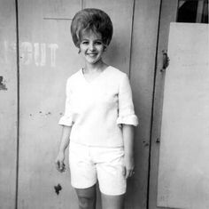"""Released on the 1962 album, """"Sincerely, Brenda Lee"""". Brenda's version of the very popular song written in 1938 by Sammy Fain and Irving Kahal. It was a hit in 1944 for Bing Crosby. I just love Brenda's voice. Brenda Lee, Happy Singer, Kenny G, Jackie Gleason, School Songs, Loretta Lynn, Bing Crosby, Thanks For The Memories, Classic Songs"""