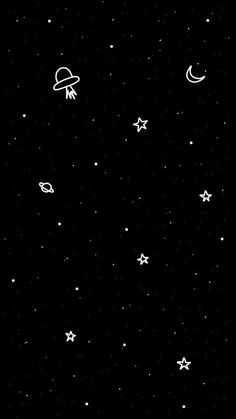 iphone wallpaper stars space and infinity. Iphone Wallpaper Stars, Cute Black Wallpaper, Space Phone Wallpaper, Wallpaper Doodle, Dark Wallpaper Iphone, Planets Wallpaper, Black Aesthetic Wallpaper, Iphone Background Wallpaper, Pastel Wallpaper