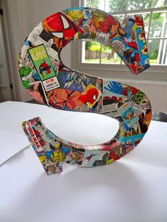 The Yewman Projects - Blogs, Dogs, Frogs & Books : Wooden letters for boys