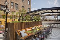 Best Rooftop Bars In New York