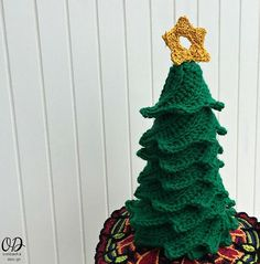 You can have your own adorable tree in no time with the Easy Crochet Christmas Tree. This crochet pattern is worked in half double crochet and only uses one skein of yarn. We repeat: one skein! Make your own Christmas tree forest. Christmas Tree Forest, Crochet Christmas Trees, Christmas Tree Pattern, Christmas Tree Crafts, Little Christmas Trees, Christmas Crochet Patterns, Holiday Crochet, Crochet Gifts, Christmas Ideas