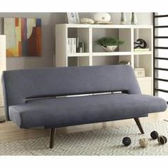 Coaster Furniture Mid-century modern grey adjustable sofa bed Upholstered in a grey woven Coaster Furniture, Sofa Furniture, Furniture Deals, Furniture Design, Furniture Outlet, Discount Furniture, Steel Furniture, Fine Furniture, Furniture Stores