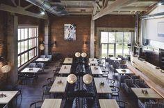 интерьер ресторана gastroport в Перми дизайнер Артемий Саранин