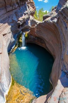 Tips for visiting Australia // Hamersley Gorge, Karijini National Park, Western Australia Is visiting Australia on a two-week vacation possible? Yes, check out these Australia travel tips and must see destinations for Australia Places Around The World, The Places Youll Go, Places To See, Around The Worlds, Visit Australia, Australia Travel, Aussie Australia, Australia Visa, Perth Western Australia