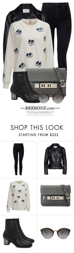 """REEBONZ.com"" by monmondefou ❤ liked on Polyvore featuring J Brand, Acne Studios, Proenza Schouler, Salvatore Ferragamo and reebonz"