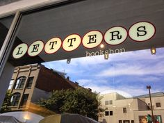 Letters Bookshop - sells new & used, offered credit for used books!
