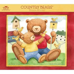 Country Bears Deluxe Wall Calendar | $15.99 | Spend the year enjoying Teresa Kogut's paintings of friendly bears in sweet scenes with Country Bears Deluxe Wall Calendar. The rural style of Kogut's characters offers a return to an easier time. These contented teddies have attracted legions of fans the world over! Country Bears reflect a simpler life, when pleasant days and cuddly companions were the key to happiness.