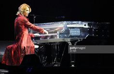 Musician Yoshiki during the X Japan World Tour Live in Tokyo - the Eighteenth Night at Tokyo Dome on May 3, 2009 in Tokyo, Japan.