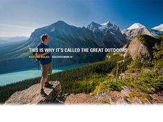 Banff National Park - Lake Louise and Moraine Lake (turquoise water) Alberta, Canada
