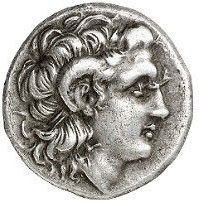 Ancient Greece -  Lysimachos, 305 - 281 BC AR drachma