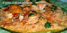 Cuscus ( o Cous Cous) di pesce alla Trapanese