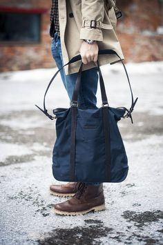 Tote Bags For Men who are on the move everytime! #Menswear #Theunstitchd