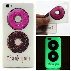 Noctilucent Clear Transparent Case For Huawei Ascend P8 Lite P8 mini Soft TPU Back Cover Luminous Protective Shell,YY-P051 //     Price: US $1.32 & Free Shipping //     Casesaholic.com //     #cellphonecase   #lifestyle