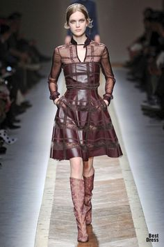 Valentino 2011/2012- love the burgundy color for fall!