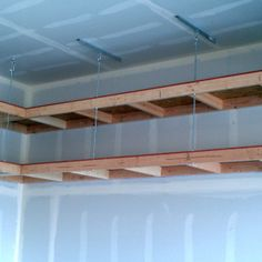 Superbe Garage Overhead Mightyshelves Alternative Hardware Methods · Garage Ideas  StorageDiy ...