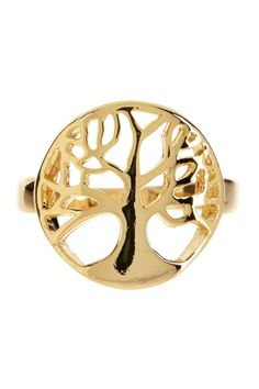 Tree of Life Ring ♥ would love it in silver